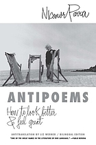 Antipoems, new and selected