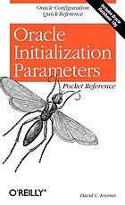 Oracle initialization parameters : pocket reference