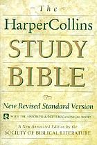 The HarperCollins study Bible : New Revised Standard Version, with the Apocryphal/Deuterocanonical books