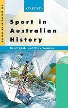 Sport in Australian history