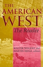 The American West : the reader