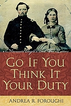 Go if you think it your duty : a Minnesota couple's Civil War letters