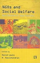 NGOs and social welfare : new research approaches