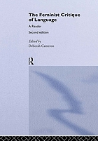 The Feminist critique of language : a reader
