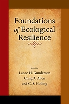 Foundations of ecological resilience