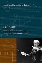 Music and Sexuality in Britten Selected Essays