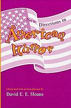 New directions in American humor