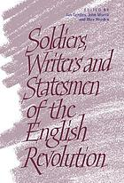 Soldiers, writers, and statesmen of the English Revolution