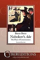 Nabokov's Ada : the place of consciousness