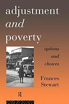 Adjustment and poverty options and choices