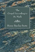The Gospel according to St. Mark. The Greek text with introduction, notes and indices