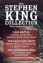 The Stephen King Collection Stories from Night shift