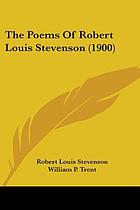 Poems of Robert Louis Stevenson