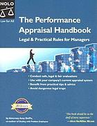 The performance appraisal handbook : legal & practical rules for managers