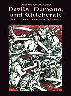 Devils, demons, and witchcraft : 244 illustrations for artists and craftspeople