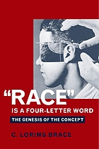 """Race"" is a four-letter word : the genesis of the concept"