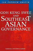 Goh Keng Swee and Southeast Asian governance