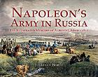 Napoleon's army in Russia : the illustrated memoirs of Albrecht Adam, 1812