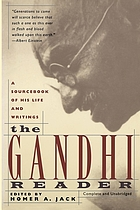 The Gandhi reader; a source book of his life and writings