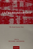 Entrepreneurship : the social science view