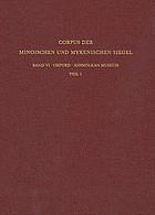 Corpus der minoischen und mykenischen Siegel