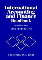 International accounting and finance handbook