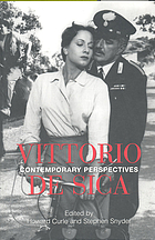 Vittorio De Sica : contemporary perspectives