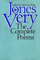 Jones Very : the complete poemsThe complete poems