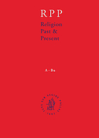 Religion past & present : encyclopedia of theology and religion