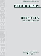 Rilke songs : for mezzo-soprano and piano