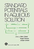 Standard potentials in aqueous solution