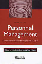 Personnel management : a comprehensive guide to theory and practice