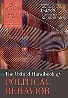 Oxford handbook of political behavior