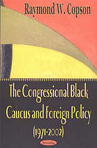 The Congressional Black Caucus and foreign policy