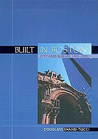 Built in Boston : city and suburb, 1800-1950