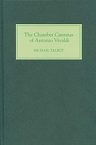 The chamber cantatas of Antonio Vivaldi