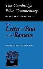 The letter of Paul to the Romans