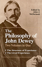 The philosophy of John Dewey The philosophy of John Dewey