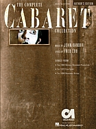 The complete Cabaret collection : vocal selections