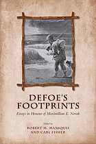 Defoe's footprints : essays in honour of Maximillian E. Novak