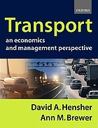 Transport : an economics and management perspective