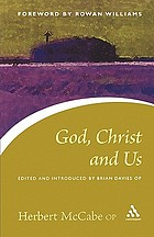 God, Christ and us