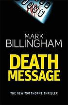 Death message : a novel of suspense