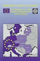 European Union accession : the challenges for public liability management in Central Europe