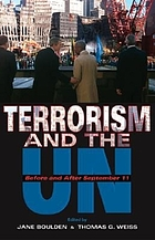 Terrorism and the UN : before and after September 11