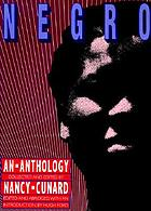 Negro : an anthology