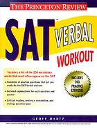 SAT verbal workout