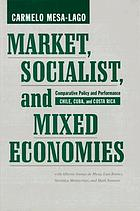 Market, socialist, and mixed economies : comparative policy and performance : Chile, Cuba, and Costa Rica