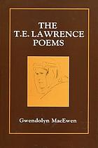The T.E. Lawrence poems