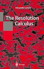 The resolution calculus